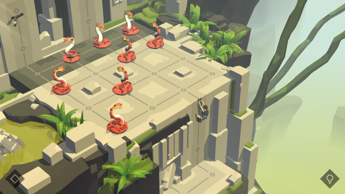 lara croft go puzzle 2