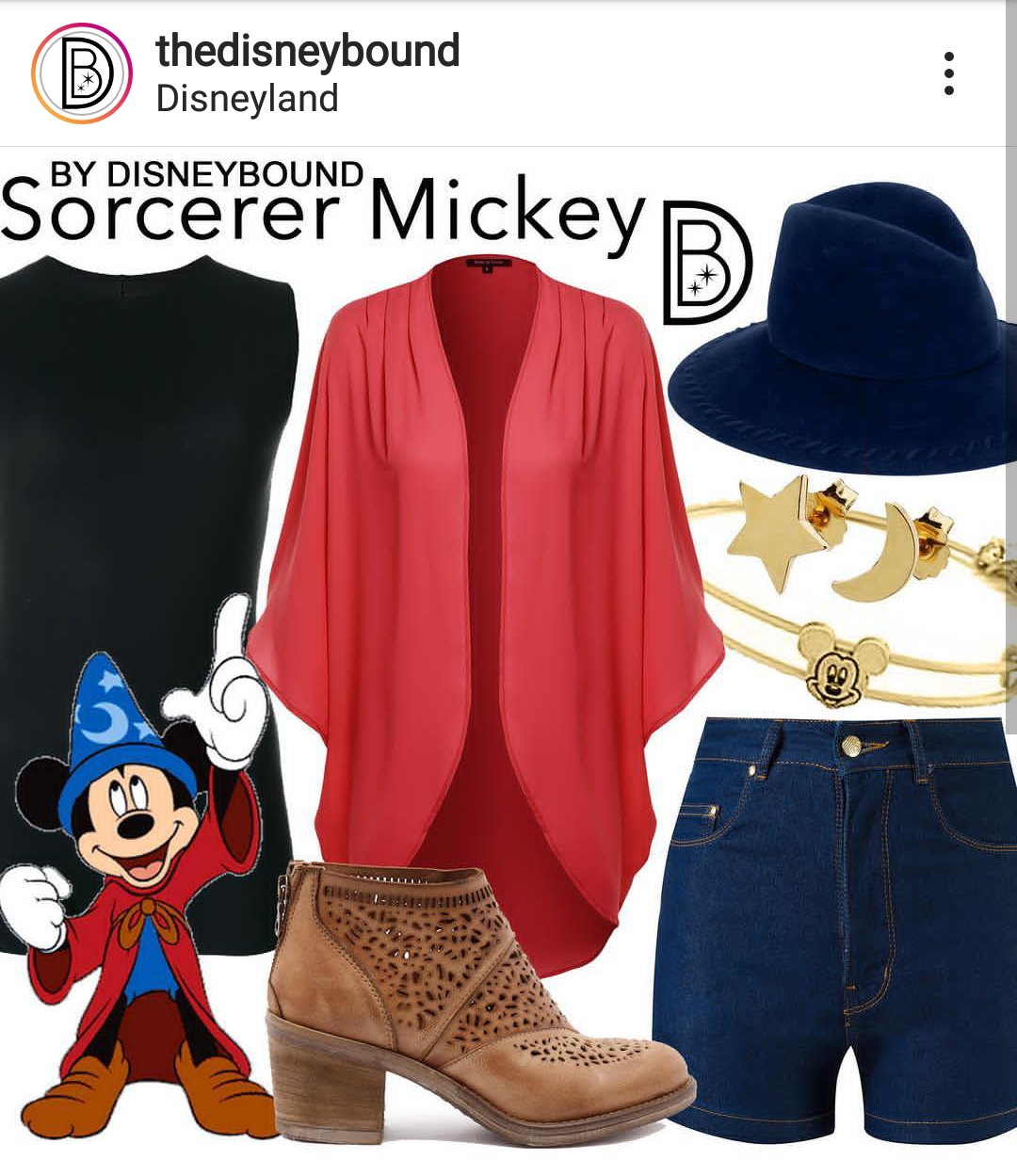 mickey-disneybound