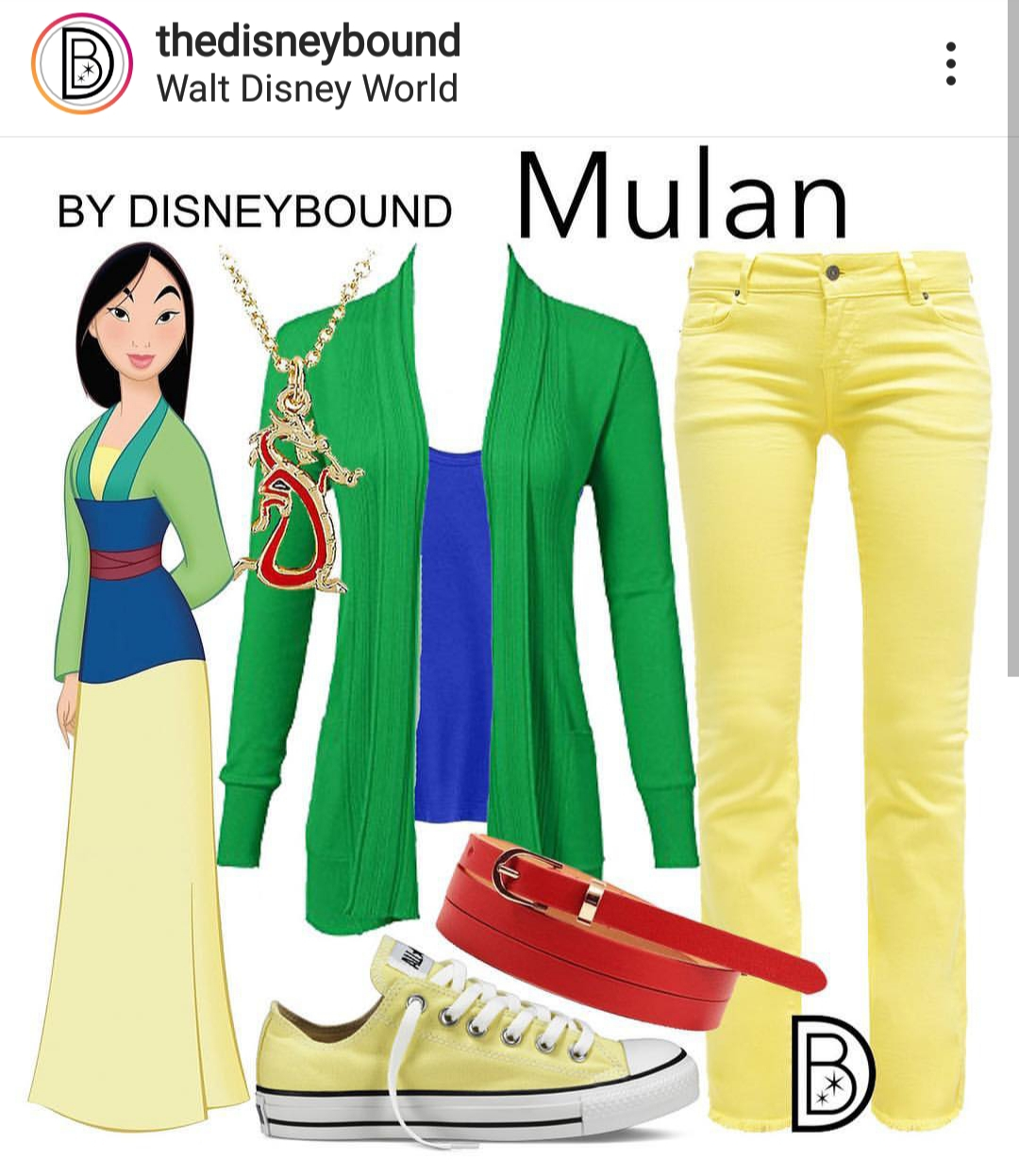 mulan-disneybound