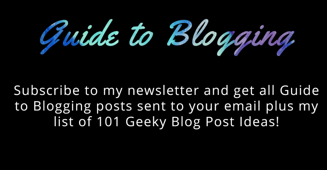 Guide to Blogging Newsletter Ad