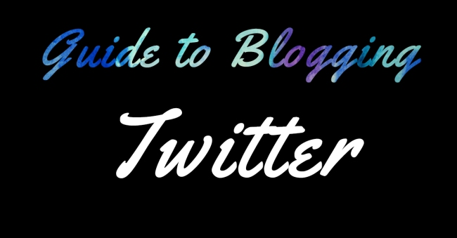 Guide to Blogging Twitter